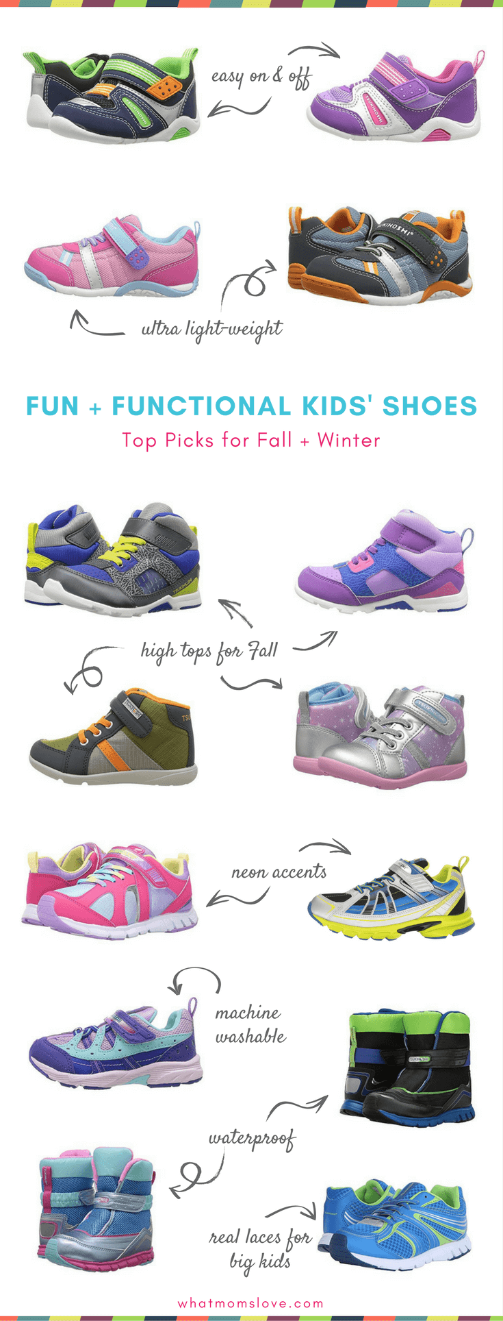 c54fbad06cea07 Best Kids Shoes for girls and boys