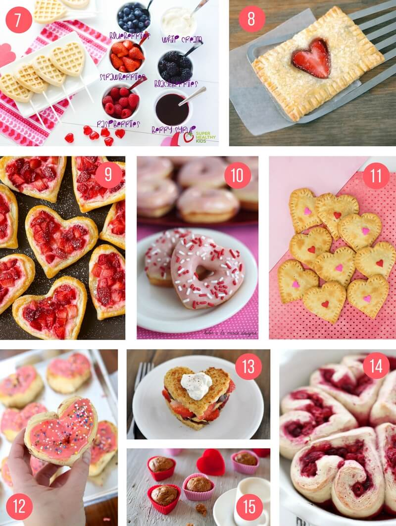 healthy valentines day breakfast - 736×977
