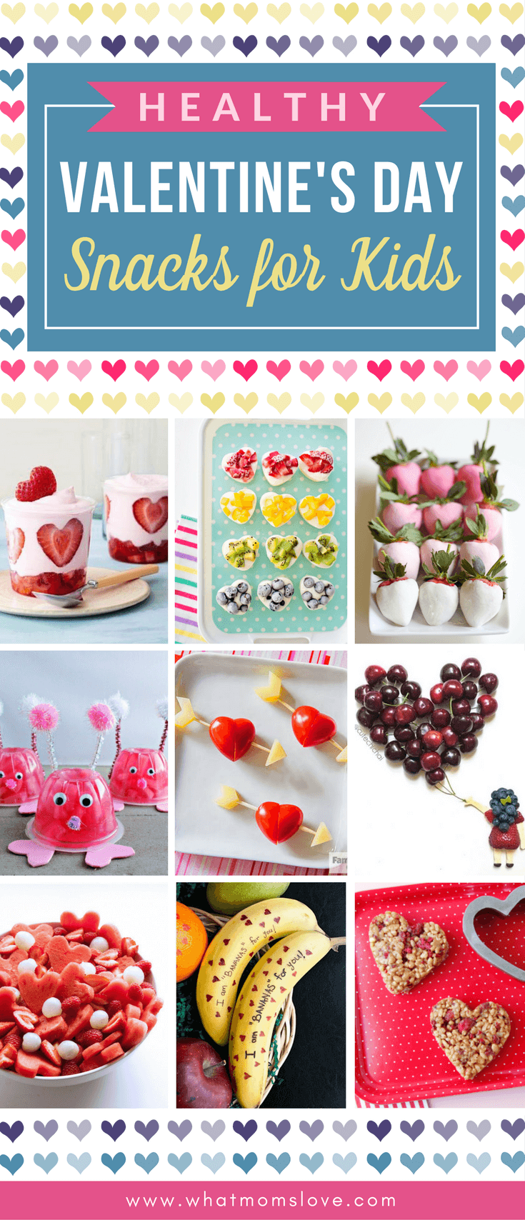 Healthy Valentines Day Snack Ideas For Kids Easy And Cute