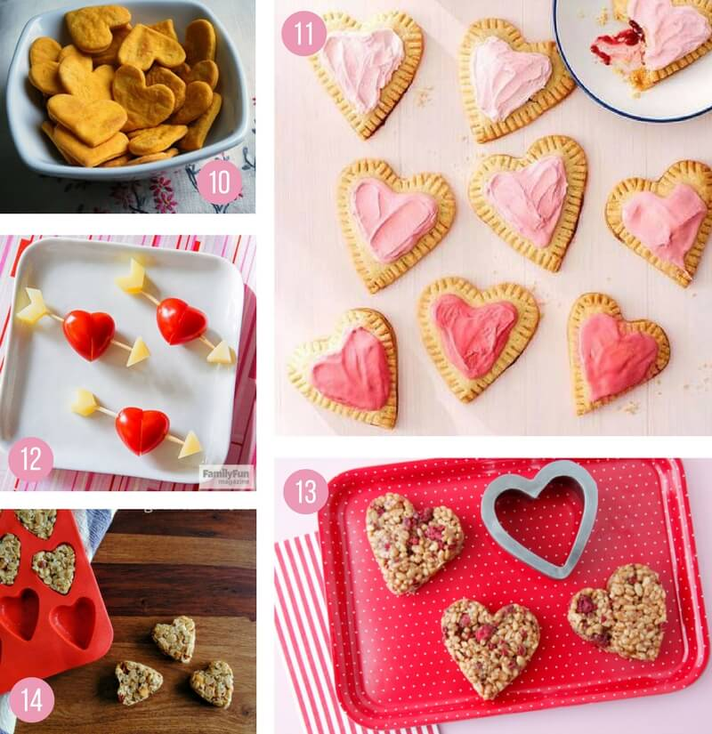 valentines day food ideas for a party - 800×825