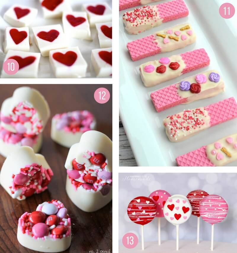 valentines day food ideas for a party - 800×853