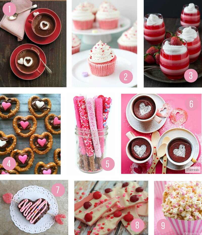 valentines day food ideas for a party - 800×933