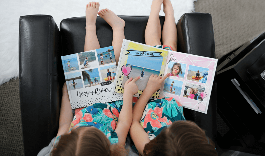 23 Genius Ideas To Make Your Yearly Family Photo Book Shine