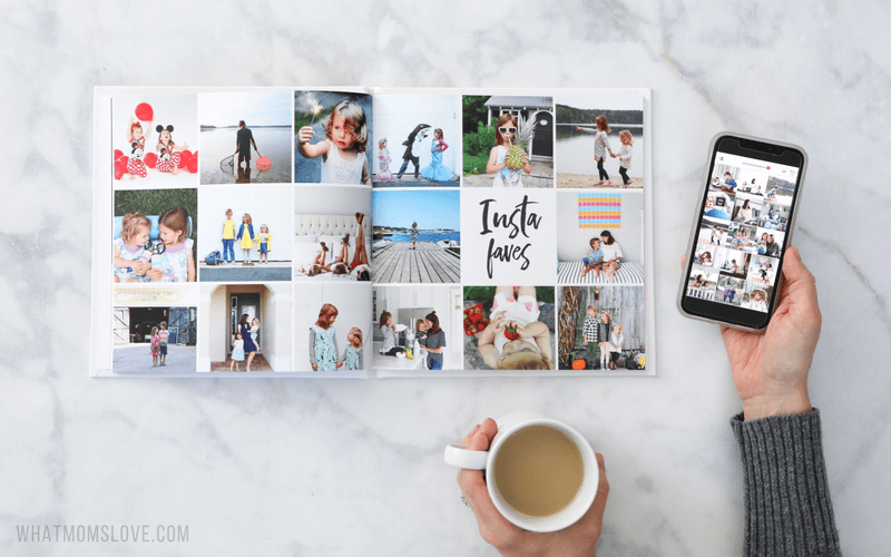 These yearly family photo book ideas are so creative include tips for how to make your own personalized annual yearbook with tutorials for layout