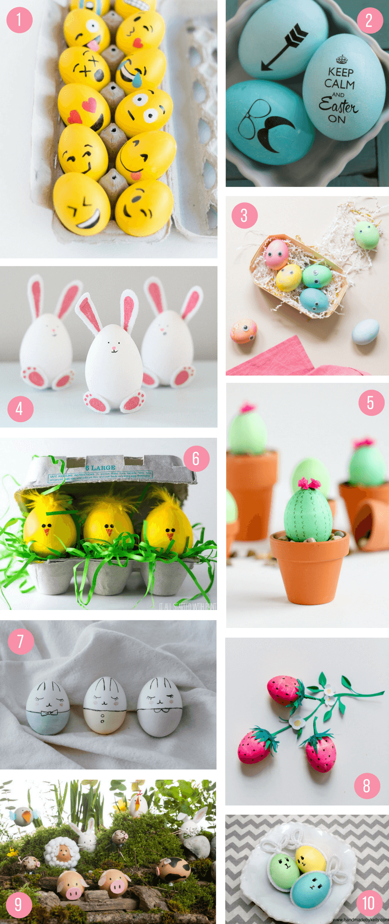 Easter Egg Decorating Ideas Characters