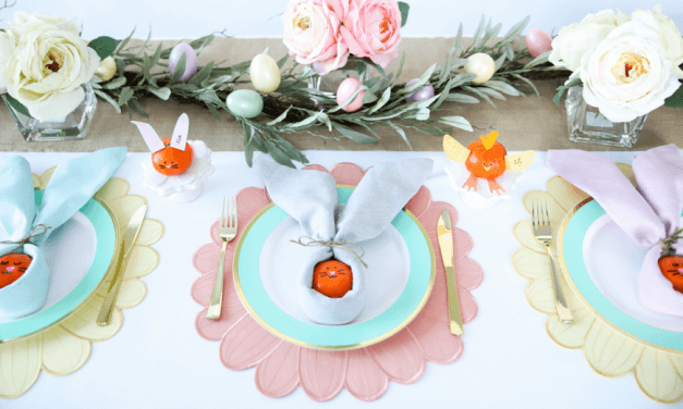 Easter Table Kids' Crafts That Are As Sweet As Can Be