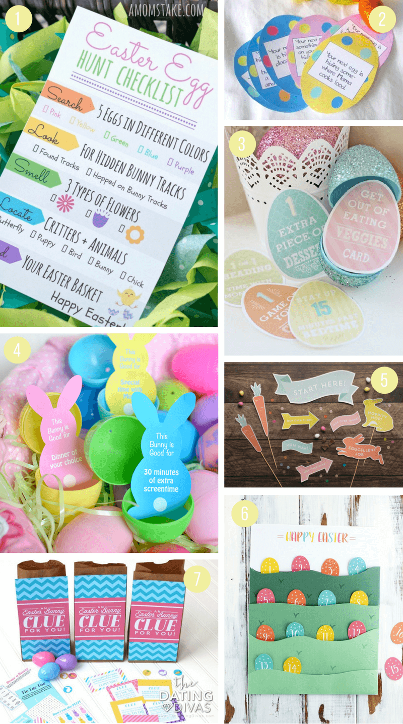Printable Easter Activities For Kids Including Fun Crafts Scavenger Hunts Coloring Pages Bag Toppers Treat Bags Gift Tags And More