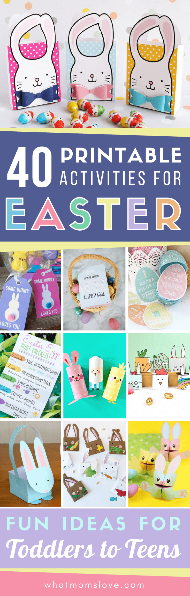 Printable Easter Activities for