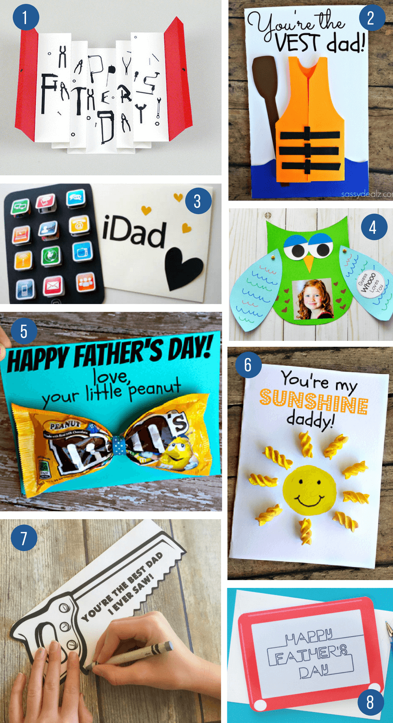 These ideas for unique homemade cards are so special that they are like a gift itself!  sc 1 st  What Moms Love : fathers day gift ideas - princetonregatta.org