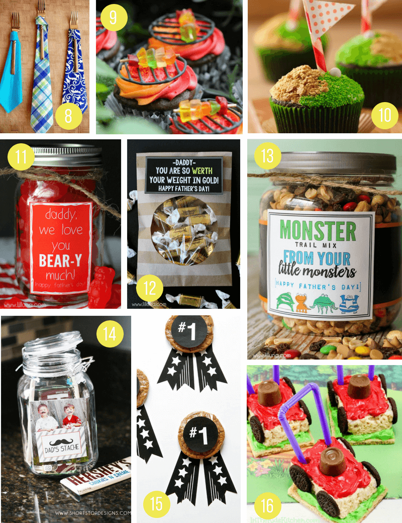7 Use The Provided Templates To Create Fresh And Festive Tie Appetizers For Your Fathers Day Meal Via Cute As A Fox