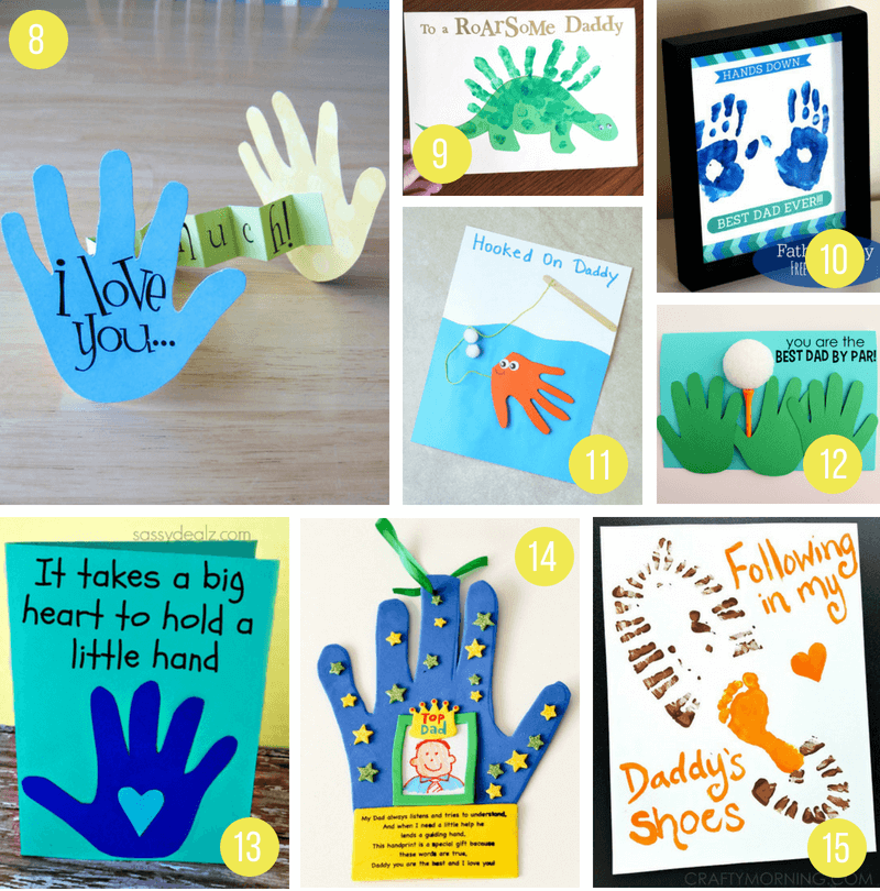 Over 100 Fathers Day Gift Ideas: 100+ Incredible DIY Father's Day Gift Ideas From Kids