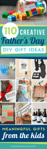 Best DIY Fathers Day Gift Ideas from kids | Easy crafts, free printables, fun cards for dad and grandpa that your kids can make!