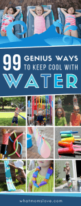 Summer Outdoor Water Activities for Kids | Beat the heat with these easy backyard ideas perfect for toddlers to teens - includes fun water games, educational activities, best DIY contraptions, water balloons and sensory play ideas. Keep cool all summer long!