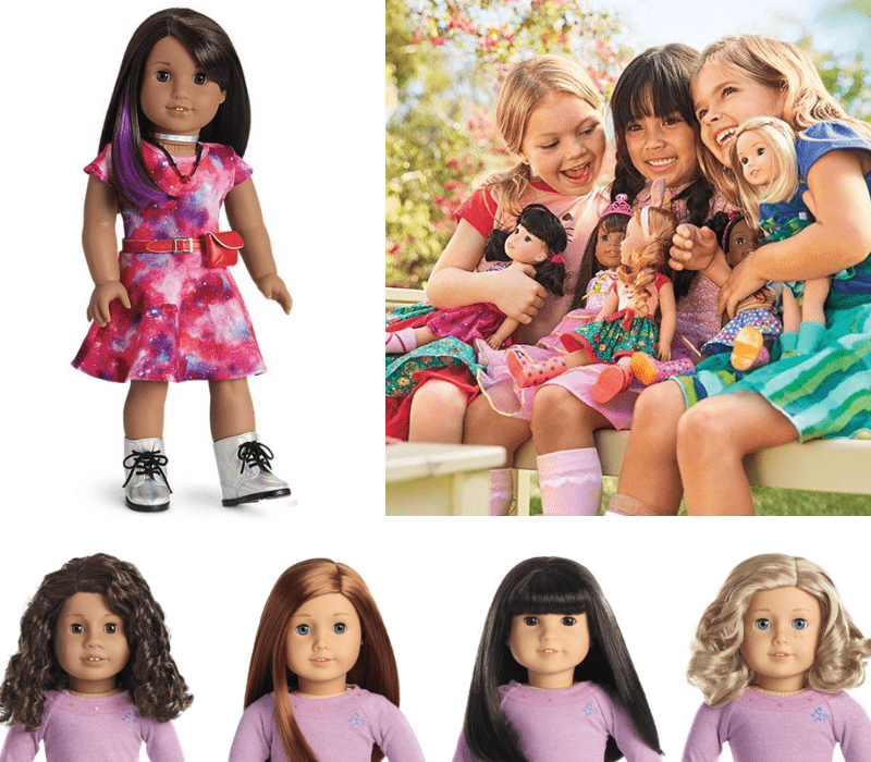 Gift Guide Best Toys for Doll Lovers - American Girl dolls