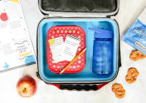 """Printable Interactive Lunch Box Notes That Help Answer Your Question: """"How Was Your Day?"""""""
