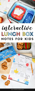 "Free Printable Lunch Box Notes for Kids | These fun, interactive notes require your child to fill-in-the-blanks or check the box while at school, and return them to you. Boys and girls love these - perfect for tweens and teens to get the ""how was your day?"" conversation started."