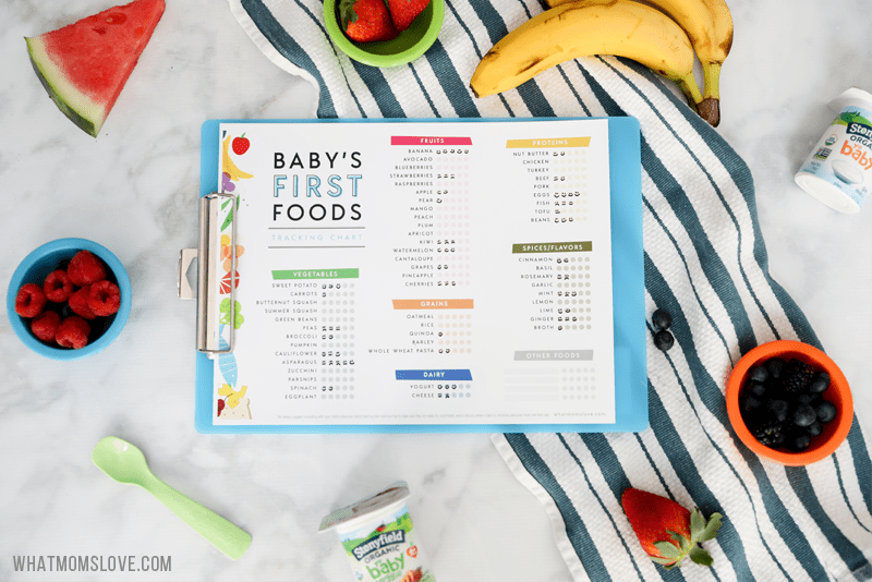 Introducing Solid Foods To Baby Baby Food Recipes Baby