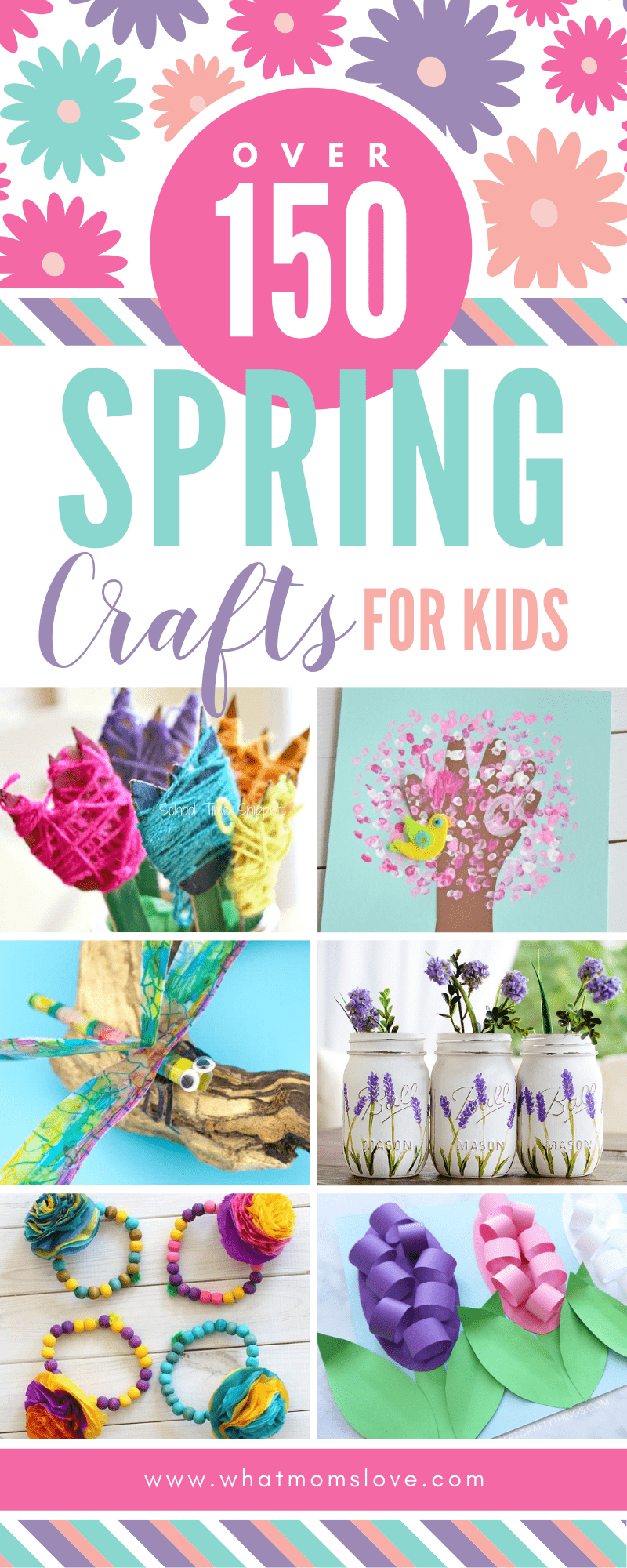 The Epic Collection Of Spring Crafts For Kids All The Best Art