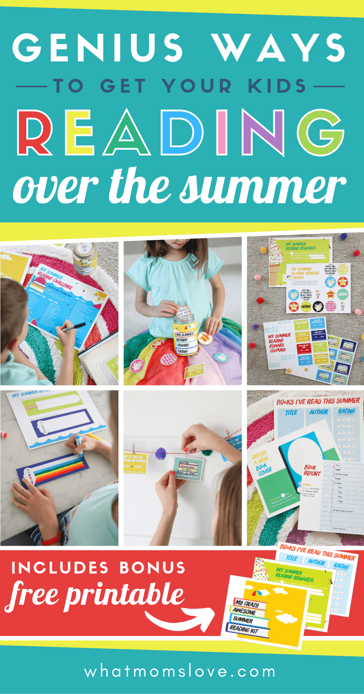How To Get Your Kids To Read This Summer With Free Printable Summer