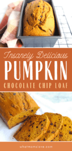 Best Healthy Chocolate Chip Pumpkin Bread | Easy to make with whole, clean ingredients | Super moist, protein packed and gluten free.