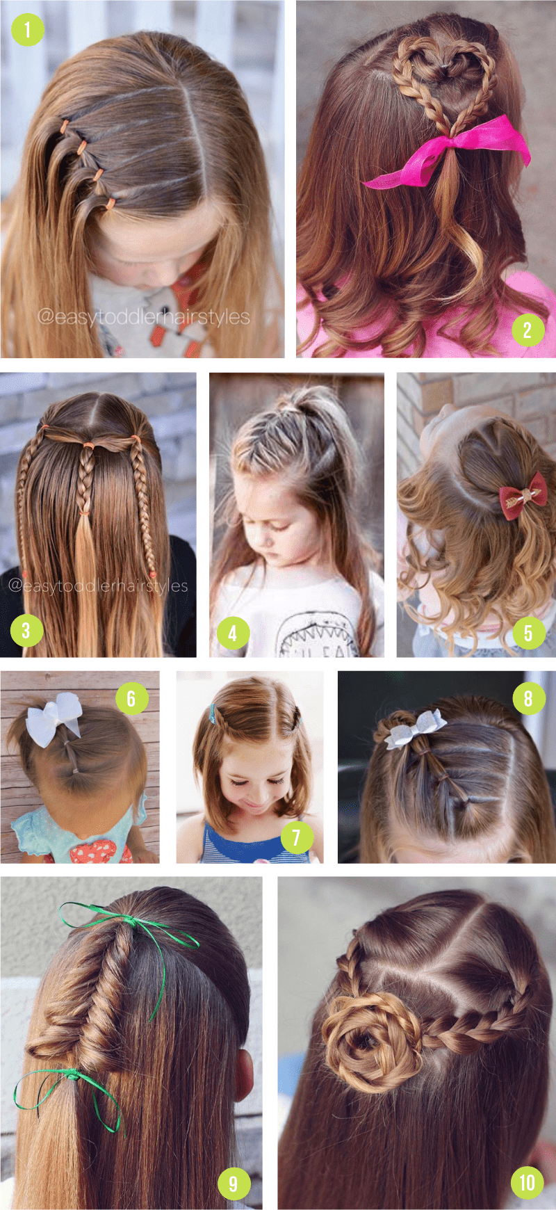 Easy Half Up Hairstyles For Girls From Toddlers To Tweens