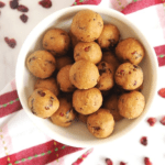 No‐Bake Gingerbread Cranberry Protein Balls: Healthy Bites To Boost Your Energy For The Holidays.
